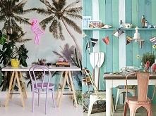 Plaża i tropiki w domu? Da się zrobić :) Zobaczcie wakacyjne inspiracje! Klik w zdjęcie lub na poliszdesign . pl