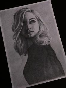 Portret mojego autorstwa :) Rysuję portrety ( i nie tylko ) na zamówienie.