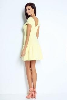 Bawełniana sukienka z falba...