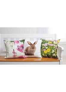 Wiosenne poszewki na poduszki ożywią każde wnętrze
