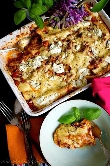 Cannelloni z sosem mięsno p...