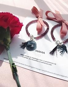 Zestaw bransoletek dla Mamy i córki, co myślicie o takim prezencie? ❤