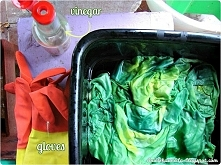 Barwienie bez gotowania Diy