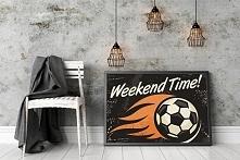 piłkarski plakat - dekoracja ścienna dla każdego kibica!