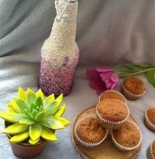 bananowe wegańskie muffiny Kto chce przepis? :)