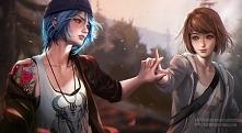 Piękny art z gry Life is st...