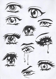 Jak wam się  podobają oczka?