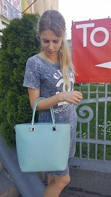 torebki damskie mięta Fb/ Atelier Torebek wysyłka 24h