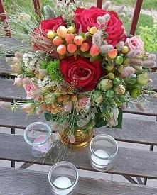 a takie dziś u mnie kwiatki...