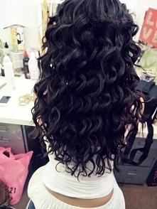 włosy, loki