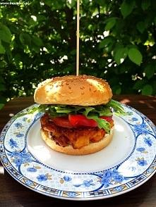 Przepis na wege burgery z dorsza, polecam! :)