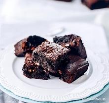 Brownie  Mocno czekoladowe,...
