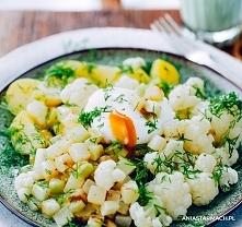 Najlepszy obiad wiosenny  Lekki, wiosenny obiad, który sprawi, że Twój dzień będzie jeszcze bardziej kolorowy. – Ania Starmach  4 ziemniaki 3 kalarepki 2 jajka 1 kalafior 2 łyżk...