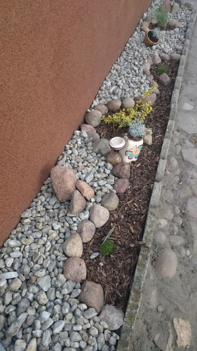 Mój pomysł na kamienie.