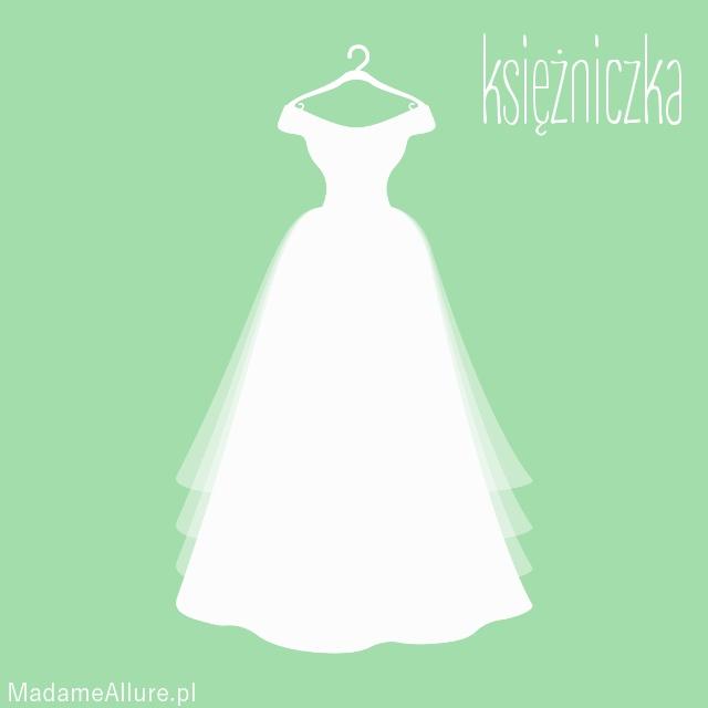 Suknia ślubna o kroju KSIĘŻNICZKA - sprawdź, czy to odpowiedni krój dla Ciebie! :)