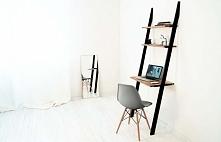 Praktyczne, małe biurko nie wymagające montażu do podłogi lub ściany. Nowoczesna, lekka forma i skandynawski, modny charakter.  Zapraszamy!
