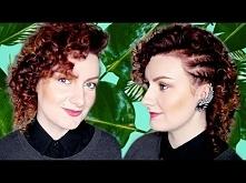 stylizacje hairstyles/MAŁE LOCZKI NA ŚREDNICH WŁOSACH Z KARI!