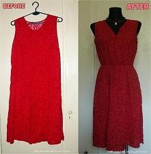 Przeróbka sukienki Diy