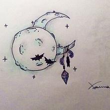 Dwa księżyce dla przyjaciół...