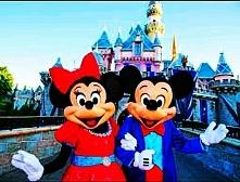 Chciałabym zabrać Mamcię do Disneyland'u. Mam nadzieję,że cieszyłaby się...