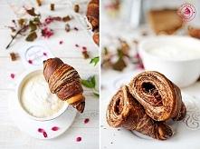 Croissanty czekoladowe - Wy...