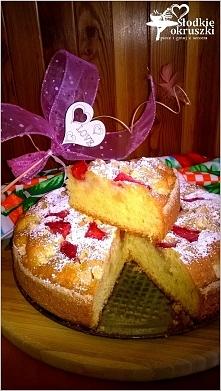 Truskawkowo-jabłkowe ciasto...