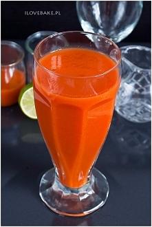 Domowy sok marchwiowy