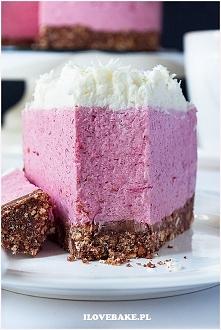 Deser z malinami na jogurta...