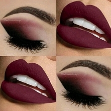 Bordo sexy make up od marty...