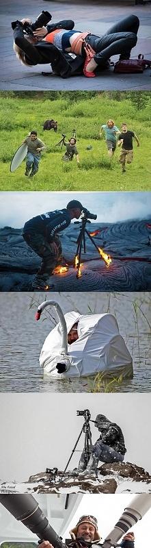 Życie fotografa nie zawsze jest łatwe...:D