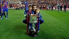 Milan & Sasha with Daddy *. *