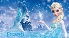 Elsa- nieśmiała, unikająca innych, ale pod koniec krainy lodu to się zmienia.