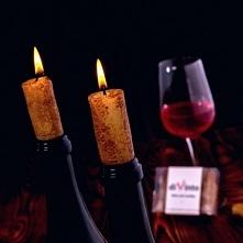 Cztery niezwykłe świeczki idealne na romantyczną kolację.Kliknij w zdjęcie, by przejść do sklepu! SmartGift.pl