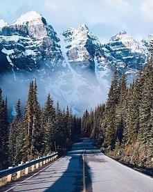 Park Narodowy Banff w Kanadzie.