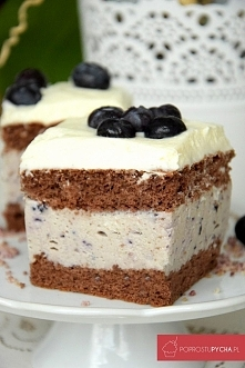 Borówkowa rozkosz – najlepsze ciasto borówkowe