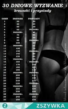 30-dniowe wyzwanie-brzuszki...
