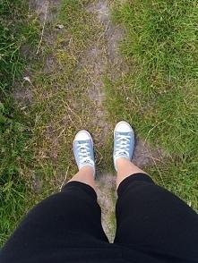 dzisiaj w ramach treningu bieganie (troche slabo 2,7 km w około 20 minut) ale...
