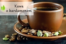 kawa z kardamonem - idealny napój na poprawę samopoczucia :)