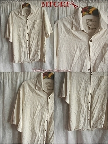 Przeróbka koszuli męskiej krok po kroku Diy