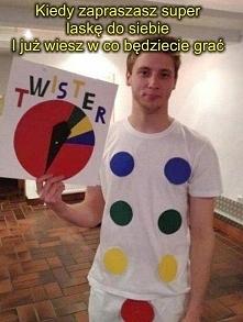 Gra twister lekko zmodyfiko...