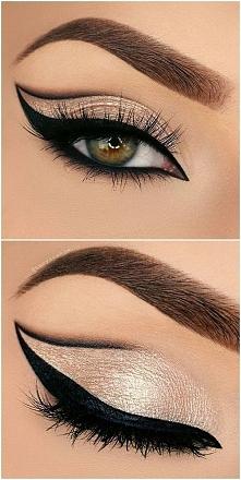 make up oczu.. idealny na imprezę ;)