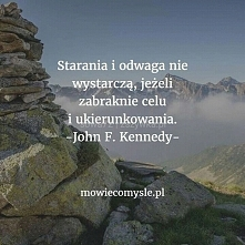 Starania i odwaga...