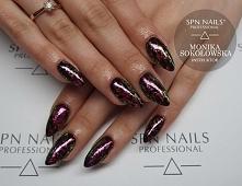 W roli głownej nowość SPN StarDust 02   Nails by Monika, Studio Magnetic Nails Monika Sokołowska Kielce, SPN Instrucotr