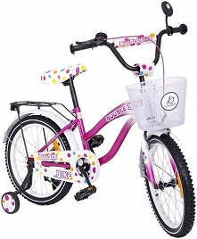 Różowy rower Tomabike dla d...
