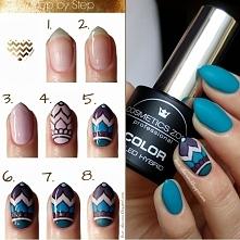 TUTORIAL - Manicure hybrydowy + wiosenne zdobienie [więcej po kliknięciu na z...