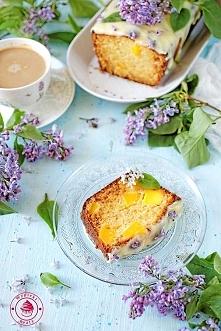 Czekoladowe ciasto z mango - Wypieki Beaty