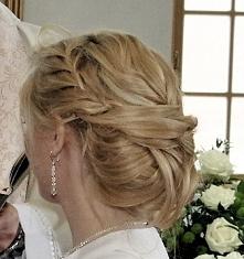 moja fryzura ślubna