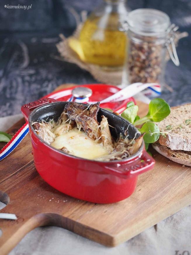 Jajka zapiekane z grzybami Gordona Ramsaya / Gordon Ramsay's baked eggs with mushrooms