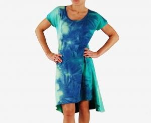 sukienka rozkloszowana, dostępna w pełnej rozmiarówce