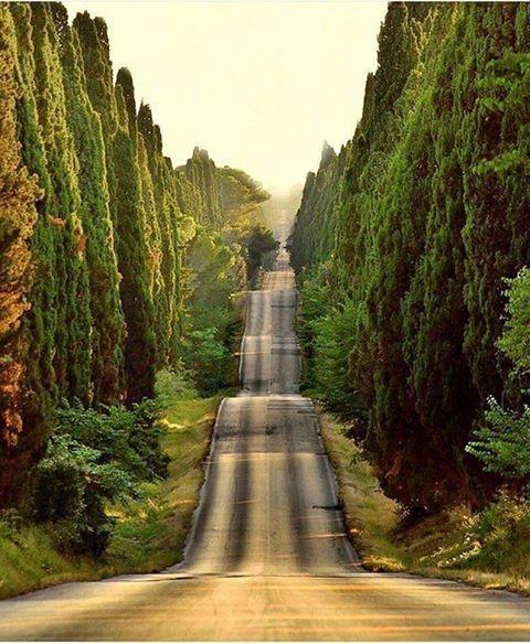 Toskania, Włochy.